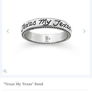 """ Texas my texas band "" james avery ring"